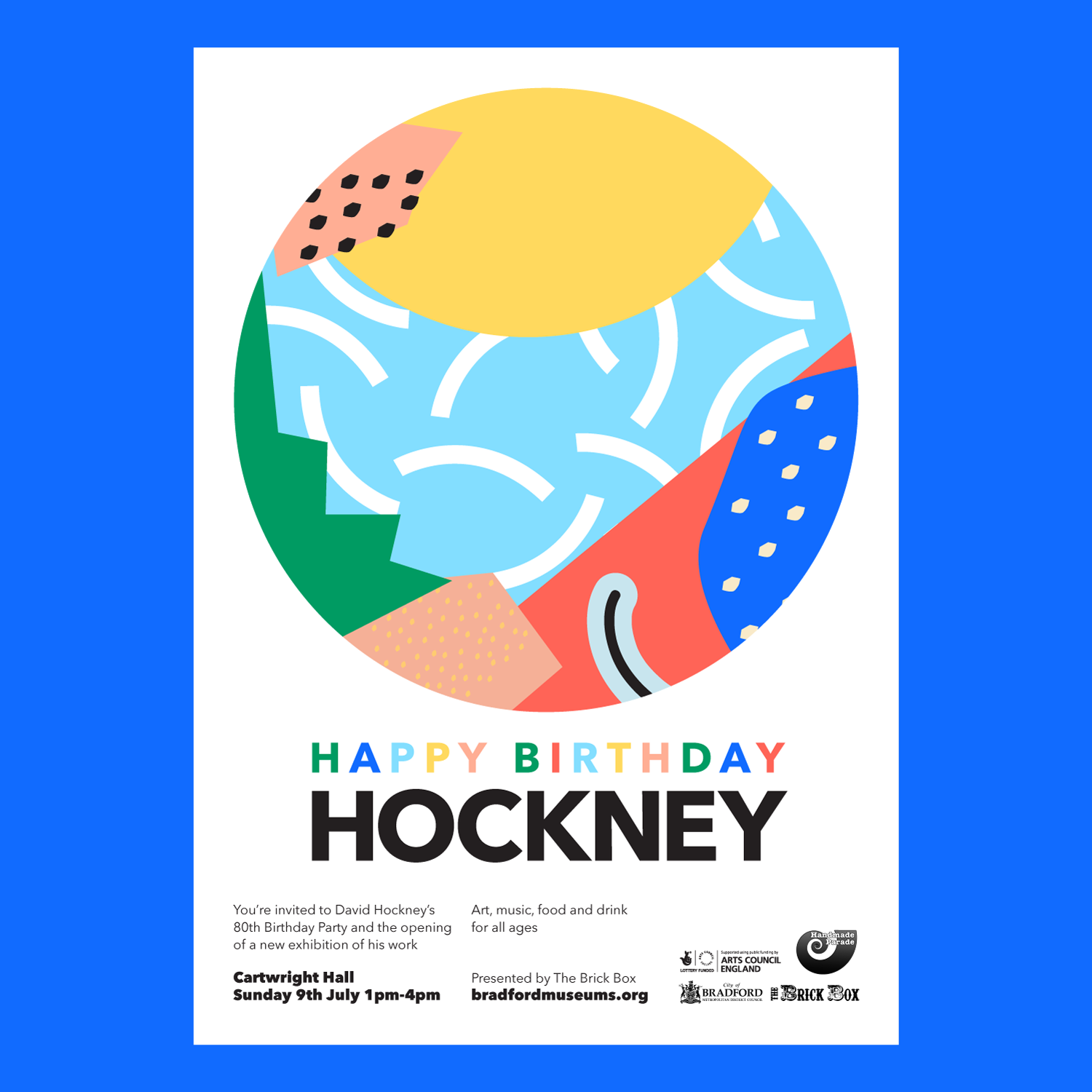 Hockney's 80th